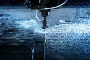 Maquina de chorro de agua
