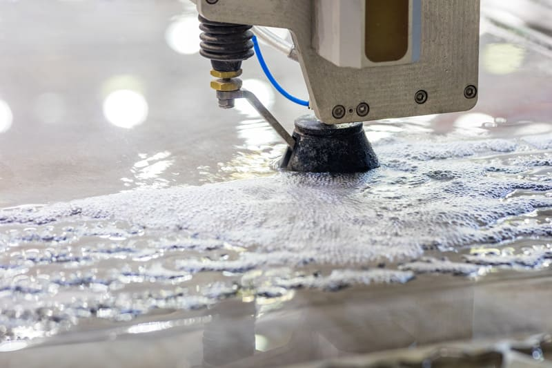 como funciona el corte por chorro de agua