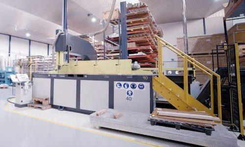 Maquina de corte de sierra Bonetti 2000