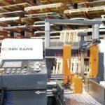 Corte de aluminio para carpinterías de aluminio en Madrid