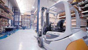 Servicio de almacenaje de materiales para ahorrar costes empresariales