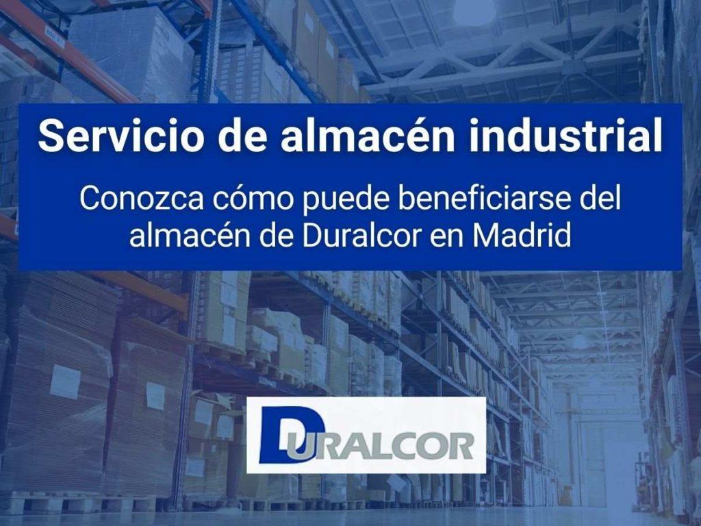 servicio de almacén industrial en madrid