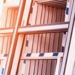 Almacenamiento de materiales carpintería de PVC