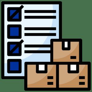 Gestión de pedidos en servicio de almacenaje